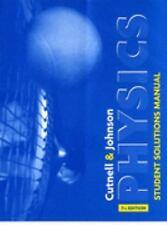 Physics, Student Solutions Manual, Johnson, Kenneth W., Cutnell, John D., Good C