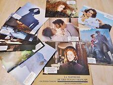 LA MAITRESSE DU LIEUTENANT FRANCAIS ! m streep jeu 12 photos cinema lobby cards