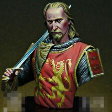 1/16 Resin Richard I the Lionheart Figure Bust Unpainted Unassembled X374