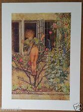 """My Lady Sweet, Arise"" Angel print by Eleanor Fortescue Brickdale, 8"" x 10 3/4"""