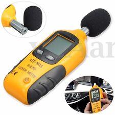 LCD Digital Sound Level Noise Meter Decibel Pressure Monitor DB Measure Tester