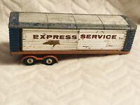 Corgi Major Toys 1137 Express Services Truck Articulated Trailer