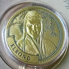 Elrond Lord Of The Rings Limited Edition 38mm Collectors Coin In Capsule