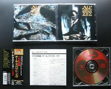ALL ABOUT EVE s/t 1988/91 JAPAN CD w/OBI PHCR-6051 THE MISSION SISTERS OF MERCY