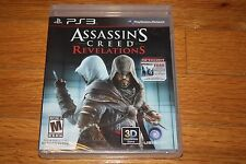 Brand New Factory Sealed PS3 Assassin's Creed Revelations with AC 1 on Blu-ray