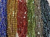 Beads Star Beads By ModeBeads table cut Czech Glass Stars 6 Color 1800 pieces