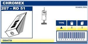 Menalux B30 - 10 Sacs pour aspirateur CHROMEX ROWENTA