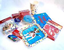 Puppy Dog Party Supplies 8 Item Multi Color Paw Print Dog Birthday Party Pak