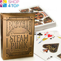 BICYCLE GOLD STEAMPUNK SPIELKARTEN KARTEN DURCH THEORY 11 NEU