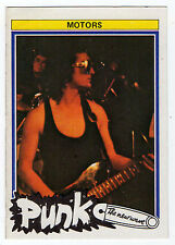 1970s Monty Gum Punk - Pop Star Card UK Rock Airport Band The Motors guitarist