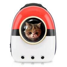 Pet Carriers Breathable Travel Bag Pokemon Space Capsule Backpack Cat Dog