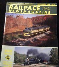 Rail Pace News Magazine 1993 December Railpace Erie CSX Allegheny steam