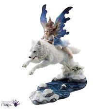 Nemesis Now Free Spirit Wolf Companion Fairy Gothic Figurine Ornament Home Gift