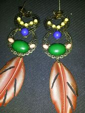 ANTHROPOLOGIE DANGLE EARRINGS..SUPER CUTE.. GREAT PRICE..