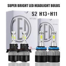1320W 198000LM H13 9008 Hi/Lo LED Headlight Kit + H11/H8 Fog Light Combo 6500K