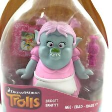 "DreamWorks Trolls Bridget Brigitte Collectible Figure Doll 3 1/2"" Hasbro NEW"