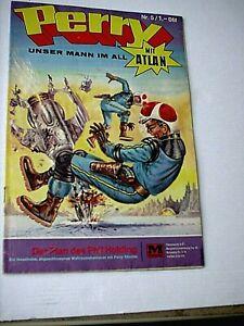 PERRY, unser Mann im All  Nr. 5 - Der Plan des P. Holding (Moewig 1968 . 75)