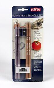 Derwent Burnisher & Blender Pencil Set