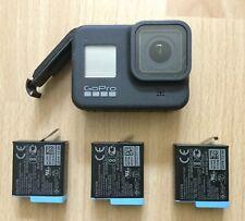 Black GoPro HERO8 Actioncam - Neuwertig und Extras