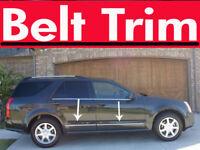 Cadillac SRX CHROME SIDE BELT TRIM DOOR MOLDING 2004 2005 2006 2007 2008 2009