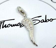 "0030-001-12 925// Sterling plata Thomas Sabo charm//remolque /""avión/"""