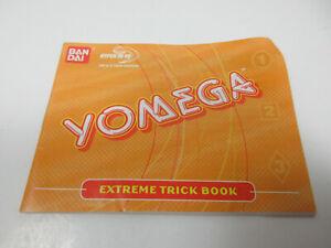 vintage 1998 Bandai Yomega Hyper Yo-Yo extreme trick book