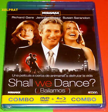 SHALL WE DANCE / Balilamos COMBO BLURAY+DVD -English Español AREA 2/B Precintada