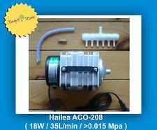 HAILEA- Air Compressor-ACO-208-HYDROPONICS / AQUAPONICS ( 35L/min - 18W )