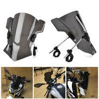 "1 Set Universal Bike Windshield WindScreen Bracket 7/8"" 1"" 1 1/8"" Handlebar"