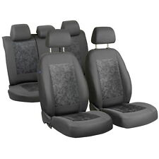 Grey Velour Seat Covers for Fiat Albea Car Seat Cover Complete