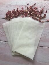 Glassine Bags Confetti Stamps Craft Eco Wedding Stationery X20 Biodegradable