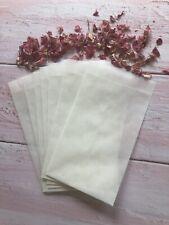 Glassine Sacs Confettis Timbres Artisanat Eco Mariage Papeterie X20