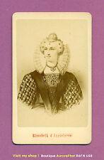 CDV PERSONNALITÉS : ÉLISABETH 1ère D'ANGLETERRE, REINE ANGLETERRE IRLANDE -N168