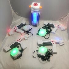 Laser X  Tag Guns 4 Player Tower Lights  Blasters Chest Targets Game Toy Tested