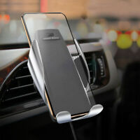 Car Accessories Qi Wireless Car Charger Mount Air Vent Holder for Mobile Phone