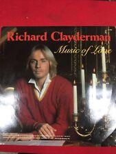 "LP Record - Richard Clayderman - ""Music of Love"""