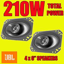 """VW Polo Golf MK2 Rear Hatch Speakers JBL 4x6"""" Oval Car Speaker Speakers 210W"""