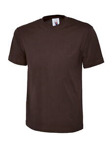 Classic T-shirt UC301 Brown Large
