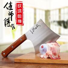 Forged Cut Bone Axe Kitchen Chop Bone Knife Hotel Slaughter Chef Professional XL