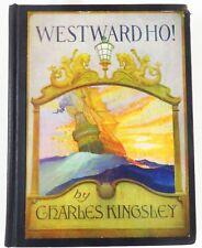 1936 WESTWARD HO! C. KINGSLEY; N.C. WYETH ILLUSTRATIONS