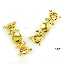 Gold onepiece Skull Hand Spinner SHIP Naruto Fidget Metal Gyro Kids Toys ADHD