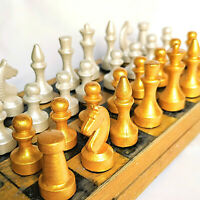 Chess Vintage Ussr Soviet Set Russian Antique Rare Tournament Gypsum Russia Made