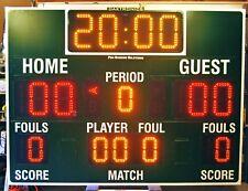 Daktronics BB-2103 LED Basketball Scoreboard with All Sport 3000