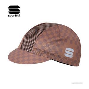 Sportful MATE Lightweight Mesh Summer Cycling Cap : CHOCOLATE/COCONUT/BLACK