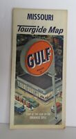 Gulf Gasoline Missouri Tourgide Road Map for Gulf Oil Company Vintage - GL15.