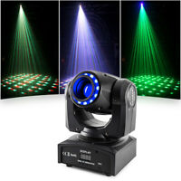 60W LED Kaleidoscope Moving Head Light RGBW Beam LED Light Party KTV Stage Light