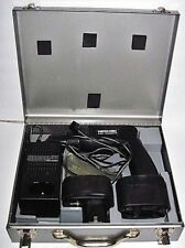 """Porter Cable Magnequench 3/8"""" Drill Driver w/Charger 2 Batteries & Metal Case"""