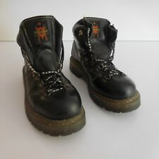 Paire chaussures cuir WOODSMAN BOOTS ADVENTURE T43 vintage design XXe PN France