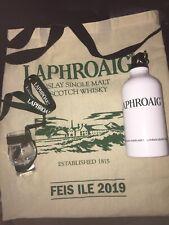 Laphroaig Whisky Nosing Tasting Glass & Water bottle & Canvas bag FEIS ILE 2019
