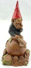 Vintage Tom Clark Homer Baseball Gnome Hand Carved 1984 Rare Series #46